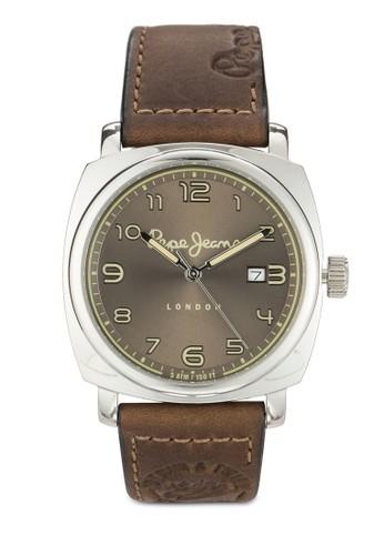 R2351111004 Howard 皮革男性圓錶, 錶類, 飾品配esprit outlet 台灣件