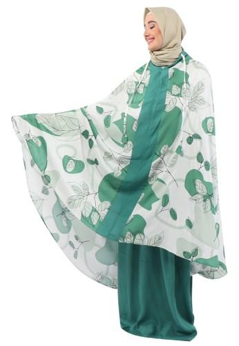 TAZBIYA green MUKENA TAZIYA 2IN1 ELLMA GREEN ALLSIZE 52BC8AA0D8CAF6GS_1