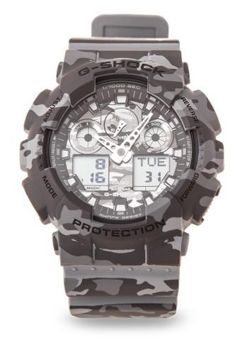 Jual G-Shock Casio G-SHOCK Jam Tangan Pria - Grey Army - Resin - GA ... ff2e87c652