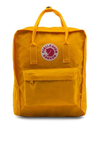 Fjallraven Kanken yellow Warm Yellow Kanken Classic Backpack FJ859AC56BIDSG_1