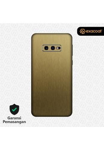 Exacoat Galaxy S10e 3M Skins Titanium Gold - Cut Only 2FC83ESA3D5412GS_1