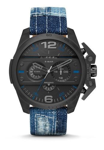Diesel blue Ironside Chronograph Watch DI095AC0K94FPH_1