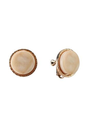 niko and ... brown Stud Earrings EF08AAC79FB312GS_1