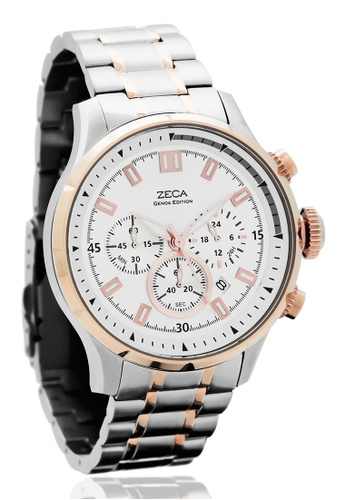 ZECA pink and silver and gold Genoa Edition Male Analogue ZE260AC0FT55SG_1