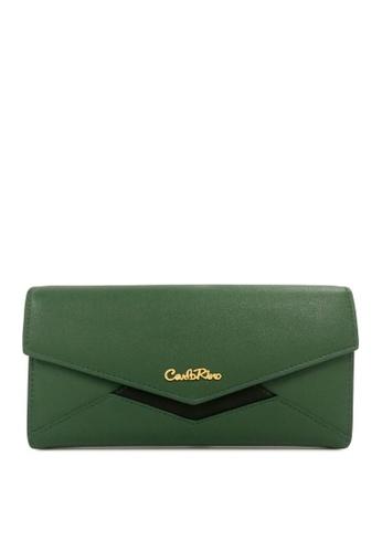 Carlo Rino green Carlo Rino 0304077A-501-16 Wallet (Green) 1E1A9ACE13D58DGS_1