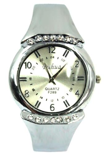 World of Watches silver Fuhua Hailey Silver Bangle Watch F289 WO566AC86OUJPH_1