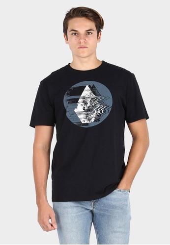 Volcom black MSF THE GLITCH FT BLK 12E23AA24E1509GS_1