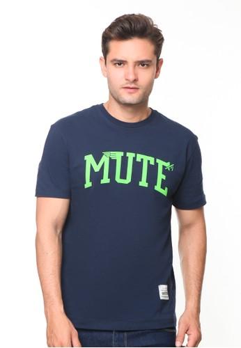 Endorse navy Endorse Tshirt Ed Mute Navy - END-RH009 FFA21AA80842F9GS_1