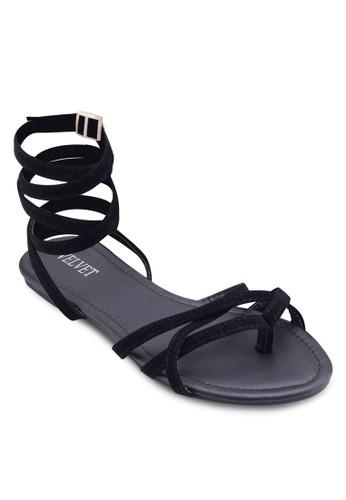 Heidi 纏esprit 請人繞式繞踝涼鞋, 女鞋, 鞋