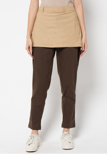 Magnificents Ladies brown Skirt Pants MA179AA27PXKID_1