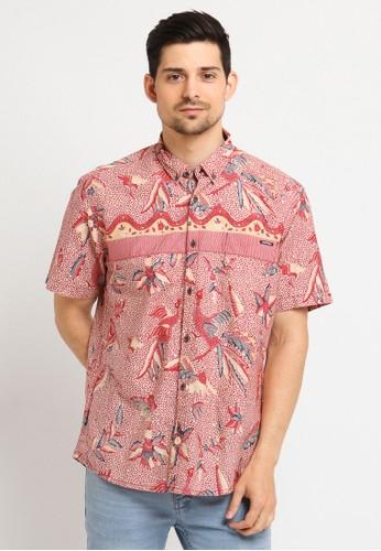 Poshboy red Poshboy Shirt Hayam Wuruk E0A09AA3B23B09GS_1