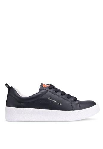 Calvin Klein 黑色 Gabri 運動鞋 EDDD1SH716610FGS_1