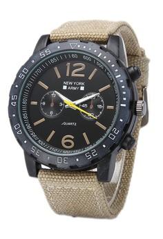 Newyork Army Men's NYA8802 Nylon Strap Watch