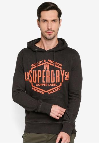 Superdry brown Copper Label Hoodie 5A39CAAE0842CEGS_1