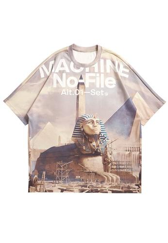 Twenty Eight Shoes Retro Printed Short T-shirt 5370S21 6298DAACDFA588GS_1