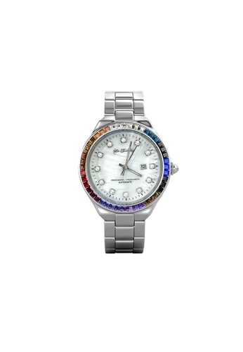 Her Jewellery Rainbow Shell Dial Watch (B) - Made with premium grade crystals from Austria BAA1BAC8F607C8GS_1