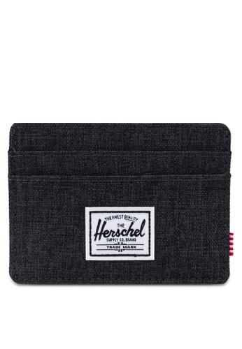 Herschel black Charlie RFID Wallet 4A494ACA9EB44EGS_1
