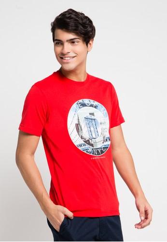Country Fiesta red Men'S Tshirt Fashion CO129AA0URAYID_1