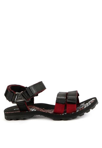 CARVIL black and red and multi Carvil Sandal Sponge Gunung Man Asensio Red 545C8SH2331933GS_1