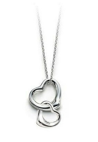 Vivere Rosse silver Heart to Heart 925 Sterling Silver Necklace VI014AC39EBOMY_1