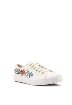 286a57a0ad Keds Kickstart Rifle Paper Co. Vines Embroidery Sneakers RM 299.00.  Available in several sizes