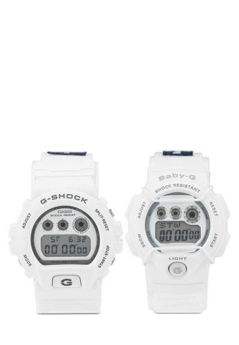 Casio white Casio Watch Set LOV-16C-7DR E90B6AC91B01AAGS_1