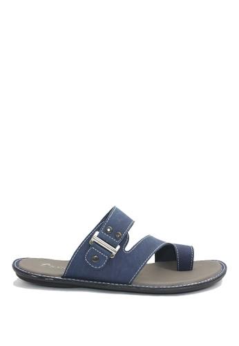 Dr. Kevin blue Dr. Kevin Men Casual Sandals 17215 - Blue DR982SH0V9COID_1