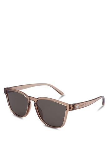 Le Specs brown History [R] Sunglasses AE800GL281CF1DGS_1