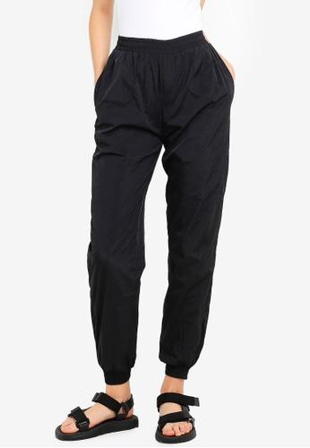 Cuffed Woven Track Pants