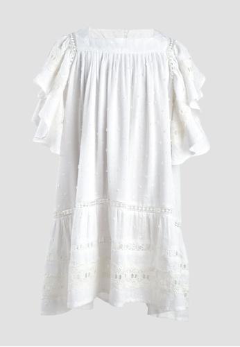Tili Dahli white Gale Dress (Baby) 30099KA52EEB57GS_1