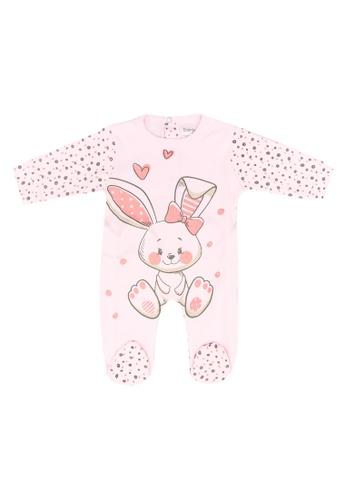 Babybol pink Baby Long Sleeve Romper C3DE9KA44C0DCFGS_1