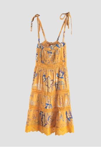 Tili Dahli yellow Breeze Dress (Baby) Amihan Print 3AF2BKAB4E1A4BGS_1