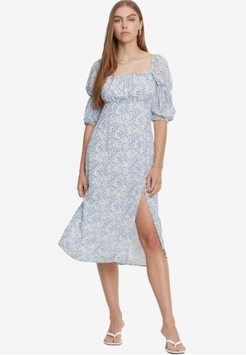 Savel multi Paloma Midi Dress A2C71AA515D79FGS_1