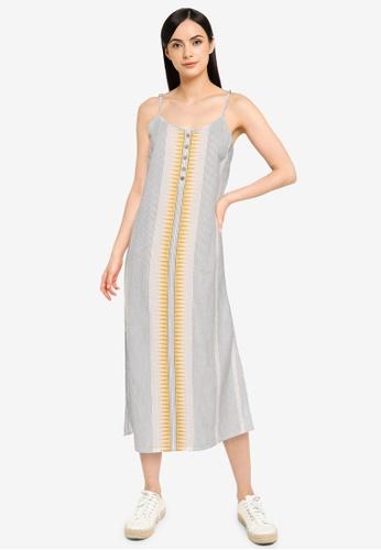 Rip Curl white Saltwater Midi Dress 8BDBDAA7A4113EGS_1
