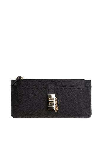 Twenty Eight Shoes black VANSATop Layer Cowhide Bi-Fold Long Wallet VBW-Wt6030 8FF8AACC765B03GS_1