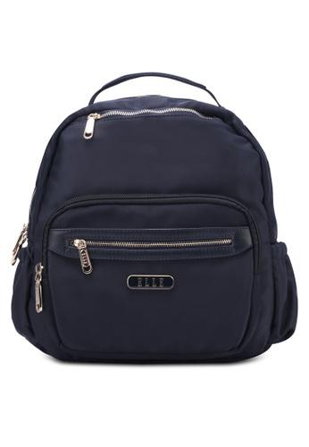 ELLE navy Beyonce Backpack EL900AC0S25RMY_1