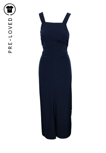 Reformation blue Pre-Loved reformation Cross Back Maxi Dress 1A525AA3DD883BGS_1