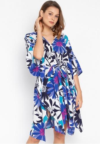 Josie multi Bold Floral Kaftan Dress 47020AAD5E4EFDGS_1