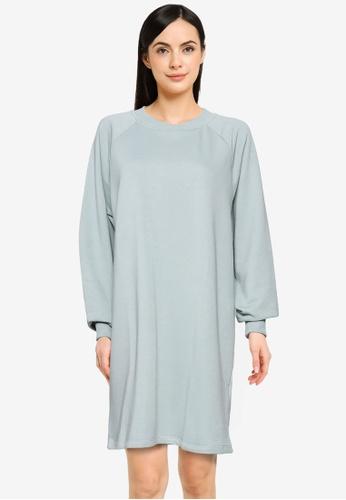 Noisy May grey Lupa Sweat Dress BB3D5AA8C56751GS_1