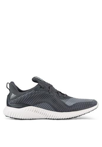 adidas black and grey adidas alphabounce hpc m AD372SH0S9E3MY_1