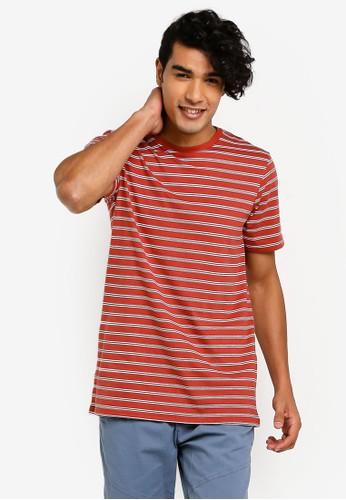 Cotton On red and multi Tbar Premium Crew Tee E8526AA9DC3CAAGS_1