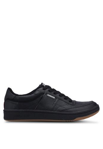 Jack & Jones black Radley PU Sneakers 93C01SHC06C397GS_1