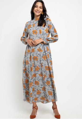 Allea by Itang Yunasz multi Farasya Dress 4C415AA7E5A97BGS_1