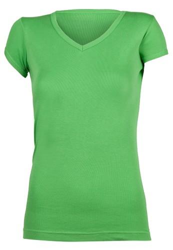 Jasmine 素色V 領T 恤, 服飾, Tesprit 衣服恤