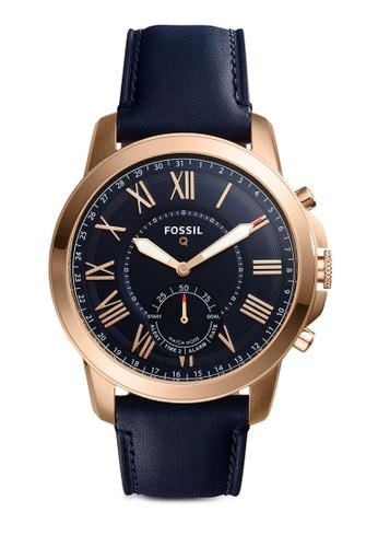 Fossil blue Fossil Q Grant Blue Smart Watch FTW1155 FO164AC0SM5VMY_1