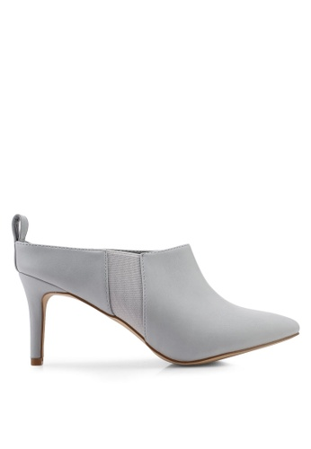 d41874ca0233 Buy Nose High Heel Pointy Toe Mules Online on ZALORA Singapore