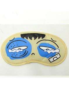 Padded Travel Eye Mask Black Eye