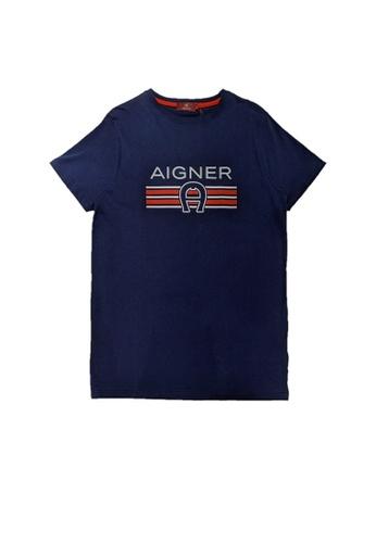 AIGNER KIDS blue AIGNER TEEN BOYS T-SHIRT 9D837KA3006E1FGS_1