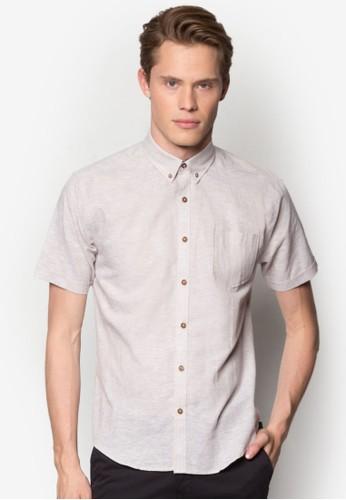 素esprit 雨傘色短袖襯衫, 服飾, 襯衫