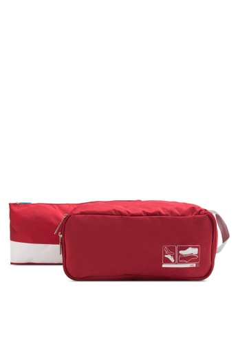 Flight 001 red Spak Shoe Bag FL204AC80HGPMY_1